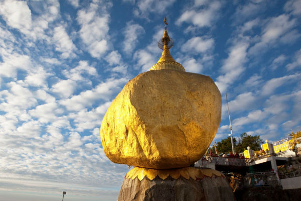 Golden Rock ở Myanmar
